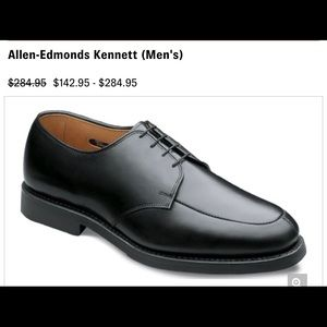 Allen Edmonds Kennett Oxfords Dress Leather Shoes